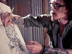 indie tattoos tattoo ink Alternative body modification body mod hardcore inked up alternative boy alternative guy