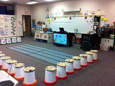 North Daviess Elementary Music room