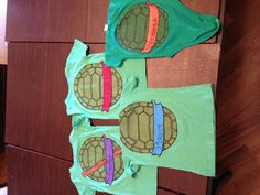 Ninja turtle shirts for birthday party