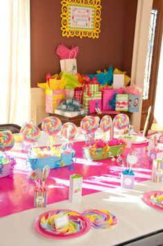 lollipop shoppe birthday party