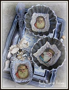Altered Spoons and Tins