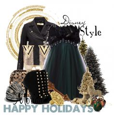 Merida - 16 Festive Holiday Party Outfits Inspired by Disney Characters