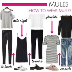 How to wear Mules wi