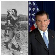 Tom Ridge-Army-Vietnam-Staff Sergeant-numerous medals (Secretary of Homeland Security 2003-05, 43rd Governor of Pennsylvania 1995-01, House Representative)