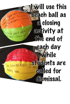 Great way to include daily reflection with students