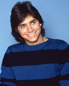 John Stamos - it's uncanny how much he looks like my high school sweetheart in this. I hadn't noticed it until my Mom pointed it out. It hurts my heart a little.