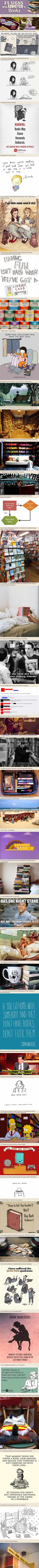 The first step is admitting it, the second one , is to keep reading…via the metapicture #Books #Reading