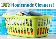 Homemade Cleaners = BIG Savings!!
