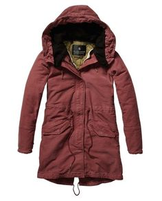 Iconic Peached Cotton Parka by Scotch and Soda