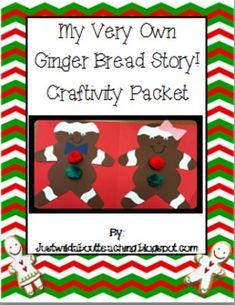 Gingerbread  { craftivity & printables }