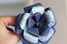 ETICAMENTE - fiori di carta