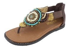 Alegria Zan Choco - on closeout for $59! | Alegria Shoe Shop #AlegriaShoes #Spring2014 #Sandals #Closeouts