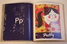 p for pretty, paul thurlby's alphabet