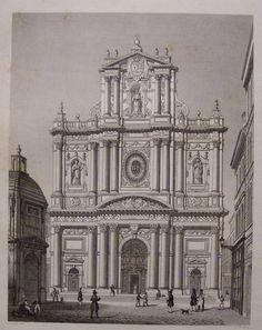 Les Miserables   Eglise De St Paul - St Louis, Paris France. The church where Victor Hugo envisioned the wedding of Cosette to Marius Pontmercy.