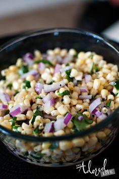 Exact Copycat Chipotle Corn Salsa #chipotle #corn #salsa #copycat #recipe #food #mexican #delicious