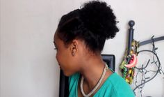 #2. Natural short hairstyles for black women