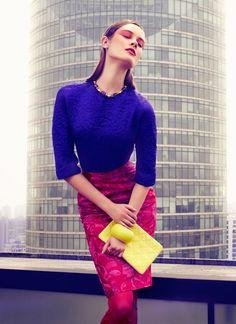 Vogue China - Pink + Purple