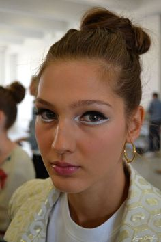 backstage beauty at kate spade spring 2014