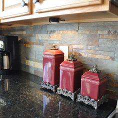 Ubatuba Granite Countertop and Tile Backsplash Ideas