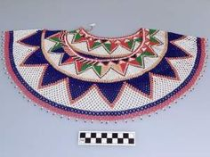 Chaquira necklace made by Guaymí indians from Panama.