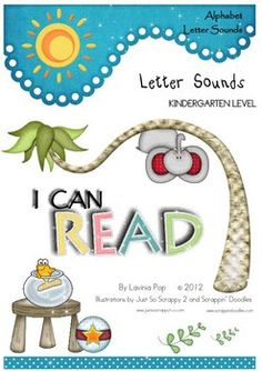 I Can Read - Single Letter Sound Posters