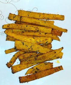 SCD Pumpkin Fries (*Use SCD legal spices & herbs...)