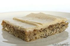 banana bars with brown sugar frosting.  These really are so good!