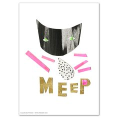 Image of Meep - Limited Edition Print by enemies yay