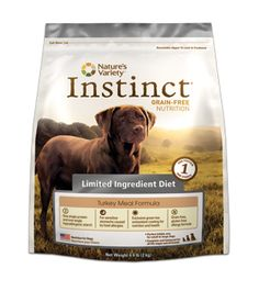 Instinct Grain-Free Kibble for Dogs: Limited Ingredient Diet: Turkey Meal Formula