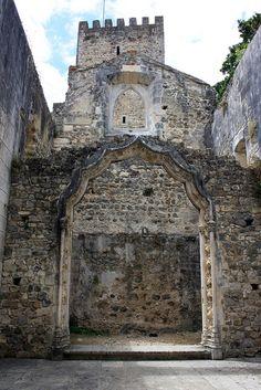 Castelo de Leiria (interior), Portugal