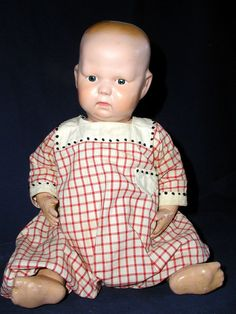 antique Schoenhut 'Nature' baby ...  from Savoring the Past on Ruby Lanes
