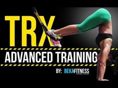 TRX Advanced Fitness Workout - Legs and Glutes