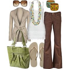 eclectic colors, created by htotheb on Polyvore