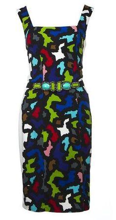 Joseph Ribkoff - Jigsaw dress.