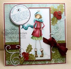 Stamping Bella - Uptown Girls - Quinn in Boots
