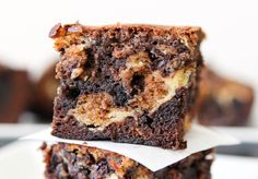 Peanut Butter Cheesecake and Cookie Dough Brownies