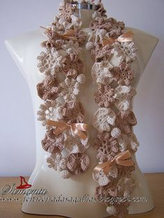 Crochet flower pattern.