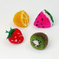 idea, pom poms, crafti, pompom, crochet