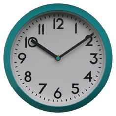 Room Essentials® Vintage Round Wall Clock - want it for our dining / kitchen