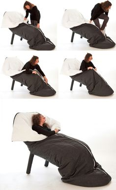 Self Snuggling: 7 Super-Cozy Full Body-Wrapping Seats. Omg I want.
