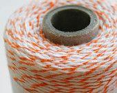 30 Yards - Orange - Divine Twine Baker's Twine