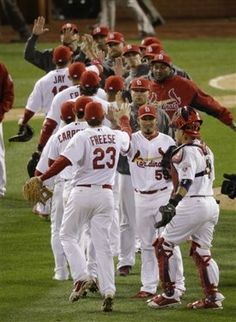 Cardinals roll to brink of World Series