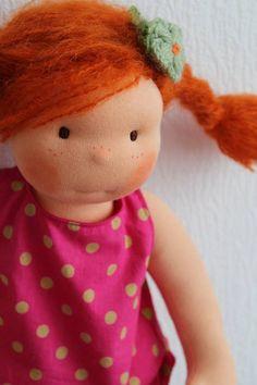 14 Waldorf doll  custom listing reserved to S. by NorthCoastDolls