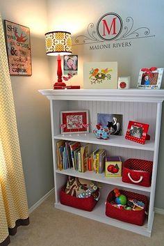 bookcase in kids room - use ikea shelf w/ added trim? set into wall?