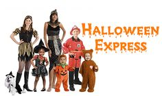 halloween express contacts