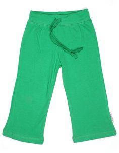 Groene touwtjesbroek - Baba Babywear