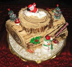 Burlingame Cakery Christmas cake