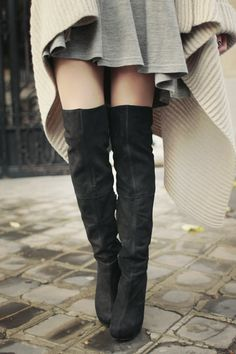 A perfect pair of knee-high boots...