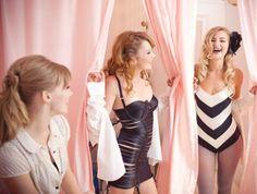 vintage lingerie, bachelorette parties, vintage photos, bridesmaid, photo shoots, friend, lingerie party, vintage inspired, bachelorette party ideas