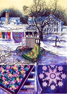 Amish Winter by Diane Phalen